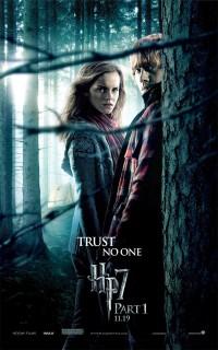 Harry Potter et les Reliques de la Mort: Partie I: Extra Large Image Movie Poster - Internet Movie Poster Gallery Prix