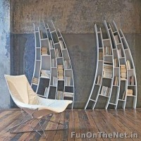 Creative Bookshelf Designs - FunOnTheNet