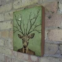 Fab.com | Surreal Scenes On Wood