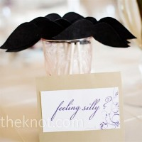 Real Weddings - A Garden Wedding in Cincinnati, OH - Photo Booth Props