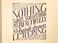 Hand Lettering Quotes on Typography Served