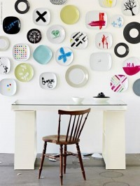wall of plates | the style files