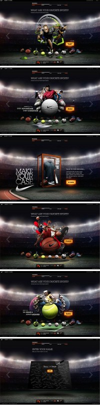 Nike CRM microsite | MRG LAB BLOG creative experience