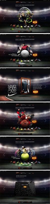 Nike CRM microsite | MRG LAB BLOG creative experience