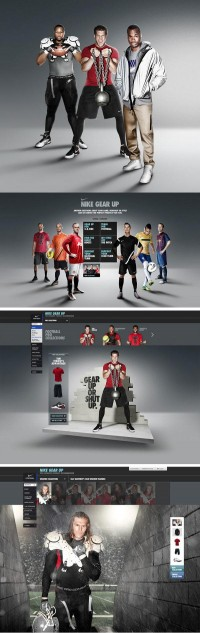 Nike Gear Up | MRG LAB BLOG creative experience