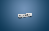 blue minimalistic text - Wallpaper (#15497) / Wallbase.cc