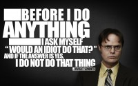 quotes typography The Office Dwight Schrute Rainn Wilson - Wallpaper (#1764670) / Wallbase.cc