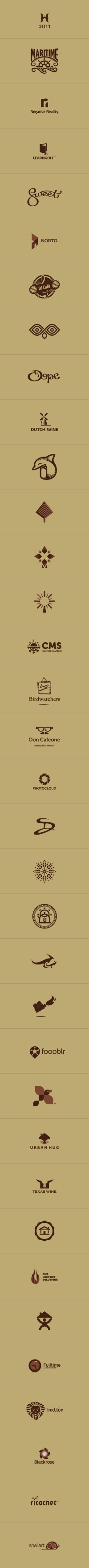 Logo Collection 2011 by ~kntz