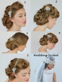 wedding beauty bridal hairstyle - StyleCraze