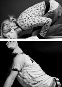 Black & White Photos / Cute Idea