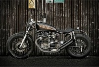 Custom Honda CX500 by Wrenchmonkees | Hi Consumption