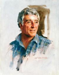 """<!-- InstanceBeginEditable name=""""docTitle"""" -->Tony Bennett - Portraits - Everett Raymond Kinstler<!-- InstanceEndEditable -->"""