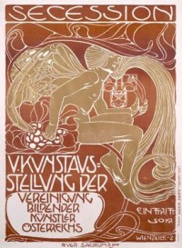 Secession V by Koloman Moser - Vintage Amazing Women Poster
