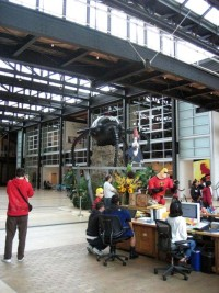Pixar's Office Interiors