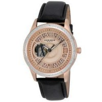 Akribos XXIV Ladies Open Heart Diamond Automatic Watch | Overstock.com