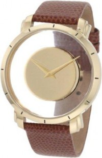 Amazon.com: Akribos XXIV Men's AK412YG Spacely Floating Gold-Tone Watch: Watches