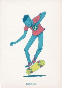Skateboarding is a Crime on the Behance Network