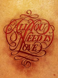 Boris Pelcer | Typeface Show Florida : All You Need Is Love | Flickr - Photo Sharing!
