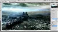 Photoshop CS 5: Âge de vitesse Sable art - YouTube