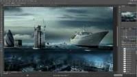 Londres sous-marine Photoshop CS 6 - YouTube