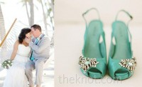 10 Brides and Their Fabulous Shoes | TheKnot Blog