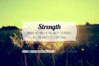 For you & you & you » Beginning anew is daunting, but sometimes it's the...