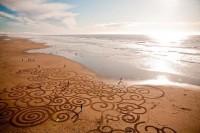 Sand drawings