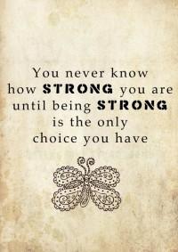 My Style / Strength . . . .