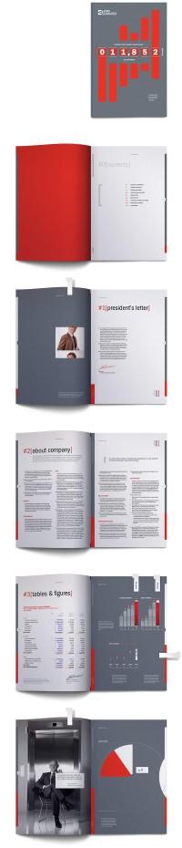 Meilleur 105 Inspiration annuel de conception du rapport à DzineBlog.com - Blog Design & Inspiration