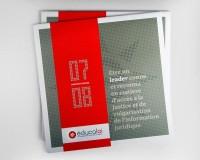 FOLIO - Educaloi_Rapport annuel 2008   Zen Branding Design & Com