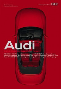 Audi's Typographic Stylings - Brand New
