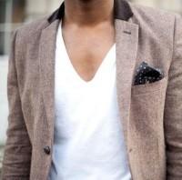 How men should be dressed. / #jacket #vneck