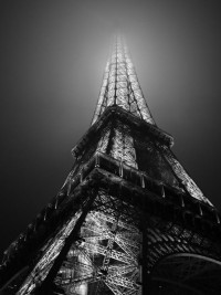 My Travel Diary / Eiffel Tower at night. Thanks be for the Eurostar.