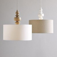 Just So Lovely: A DIY West Elm Turned Wood Pendant Light