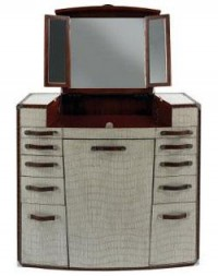 Retro To Go: 211 Trunk - 1930s-style portable storage and dressing table