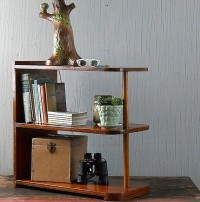 Reserved for pjs51 1950's Mid Century Modern Plywood End Table Book Shelf ($50-100) - Svpply
