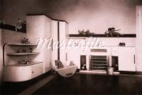 Vintage Photograph of Nursery And Furniture, Circa 1930's Stock Photos