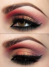 rose water eye makeup - StyleCraze