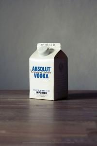Bebida Alcoólica em Embalagem de Leite | Mistures