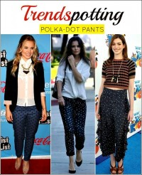 Polka Dot Pants: 3 Trendy Ways to Style Them