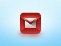 Gmail iOS Icon by Javi Pérez