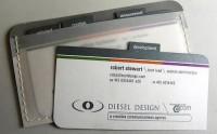 Alan Patten Creative Marketing Specialist > Portfolio > Diesel Design Business Cards