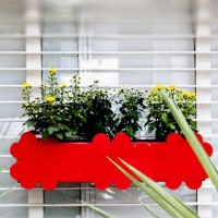 Shopo | Product from Green Essence Shop | Red Railing Planter