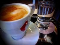 Caffe latte @ Sugar Fixe Pattiserie | chaQula