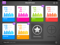 StackTrace, an iPad app by BigBig Bomb