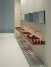 ONE: il bagno che non c'è, sistems bath design line by Matteo Thun and Antonio Rodriguez.