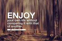 For you & you & you » Circumstantial differences means that your life is...