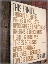 Well said... / Family
