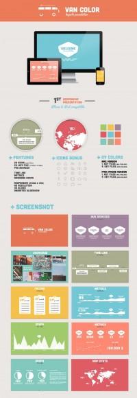Van Color Presentation - PowerPoint & Keynote - Creattica