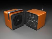 Brionvega Radio Cube by ~DocFelix